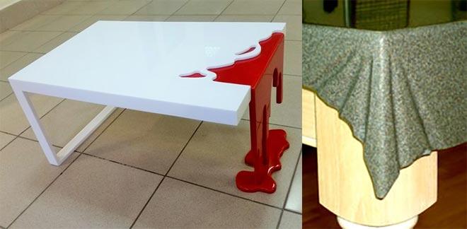 Мебель из акрилового камня