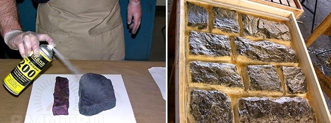 Модели для создания формы для искусственного камня