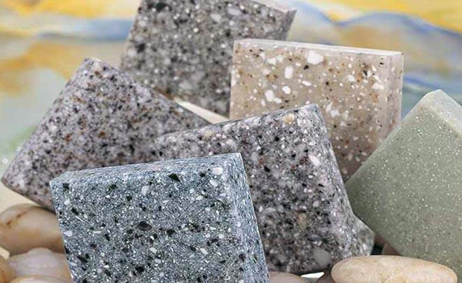 Искусственный камень на основе акрила