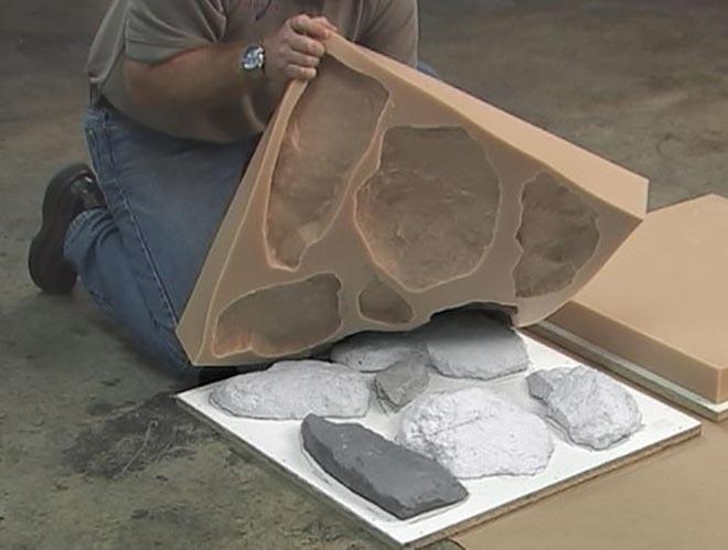 Искусственный камень на основе цемента